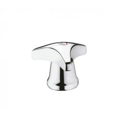 "Grohe Griff Trecorn 45081 1/2"" Markierung rot mit Kappe chrom"